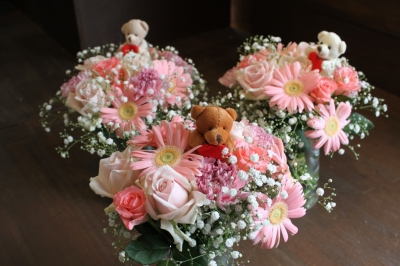 バレエ、発表会、花束、ブーケ、いわき市小名浜の花屋,花国湘南台店