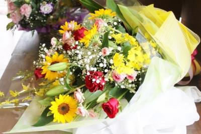 お祝、 お花、花束、 いわき市小名浜の花屋,花国湘南台店