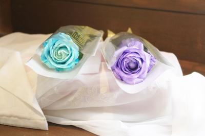 ブルーバラ、青いバラ、花束、いわき市,小名浜,花屋,花国湘南台店