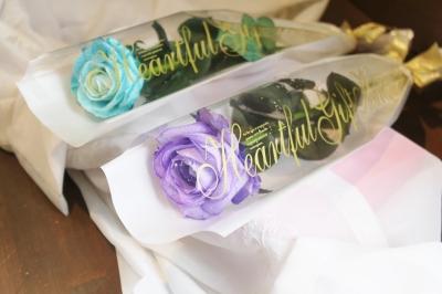 バイオレットバラ、紫色バラ、花束、いわき市,小名浜,花屋,花国湘南台店