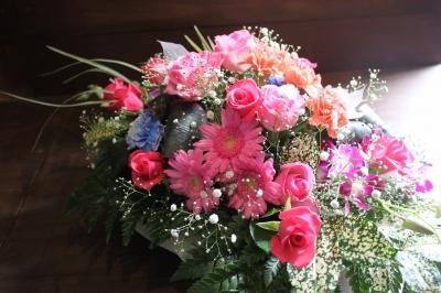 テーブル花、アレンジ、装飾、いわき市,小名浜,花屋,花国湘南台店