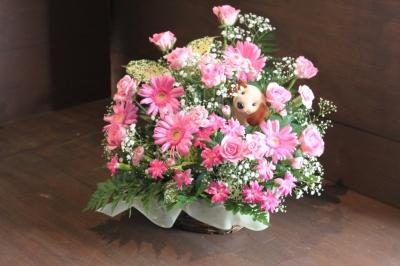 お祝、お花、アレンジ、花束、いわき市,小名浜,花屋,花国湘南台店