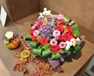 おしゃれ、お祝、お花、ギフト、花束、アレンジ、いわき市,小名浜,花屋,花国湘南台店