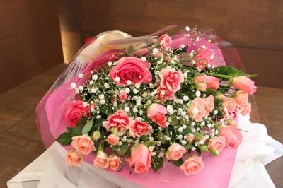 バラ、花束、お祝い、発表会、いわき市,小名浜,花屋,花国湘南台店