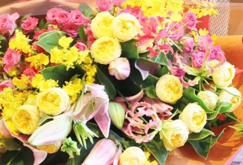 花束、薔薇、ばら、いわき市,小名浜,花屋,花国湘南台店