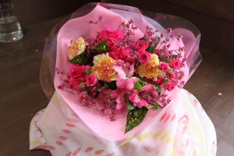 お祝、花束、いわき市,小名浜,花屋,花国湘南台店