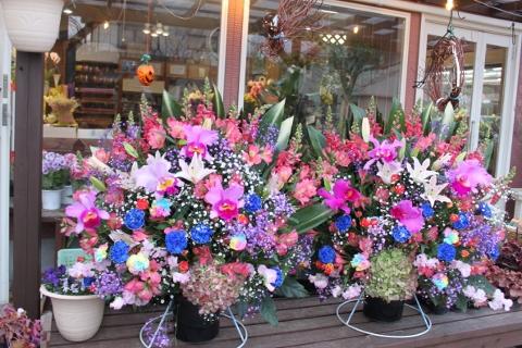 お祝、スタンド花、いわき市,小名浜,花屋,花国湘南台店