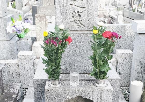 いわき市 花国 お花の画像  お供え お墓参り