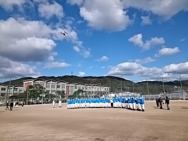 集合写真UAV