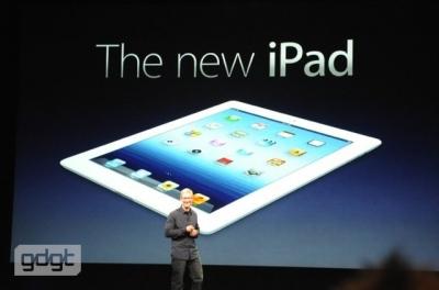 アップルが「新iPad」を発表!3月16日発売