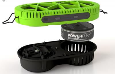 スプーン1杯の水でiPhoneの充電を満タンにできる電池「Powertrekk」が開発される