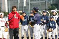岡島秀樹ベースボール教室