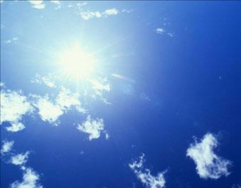 真昼の太陽