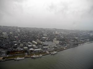 信濃川と日本海