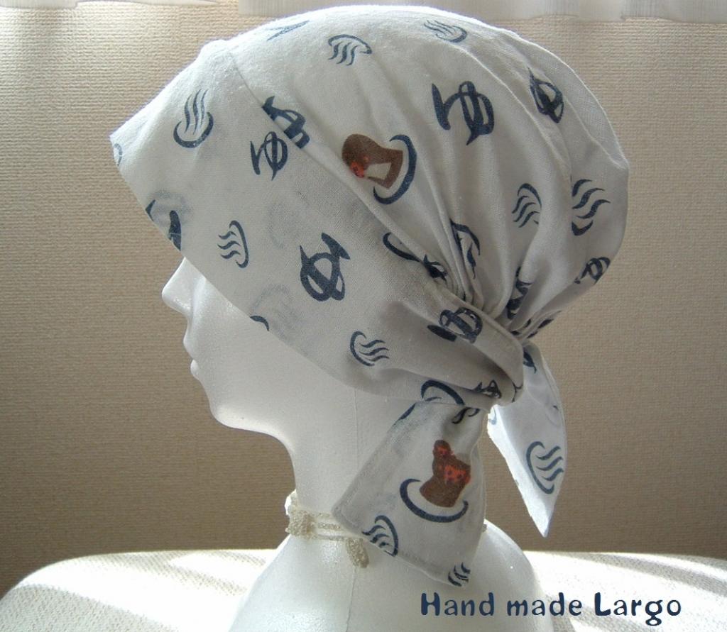 作り方 バンダナ 帽子