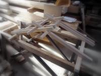 化粧垂木模型