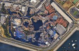 WSD-F20 Google Map @Disny Sea