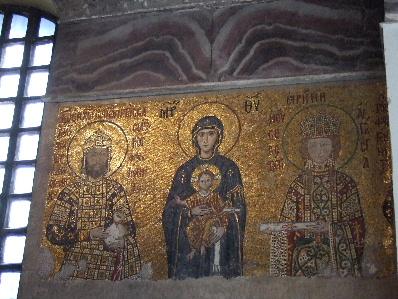 聖母子と皇帝家族