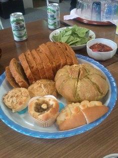 マクロビーナス製パン初体験