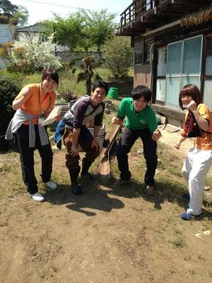 東農大の学生たち