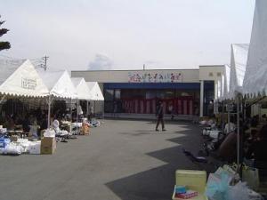 今川祭りの会場。