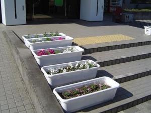 花の納品�