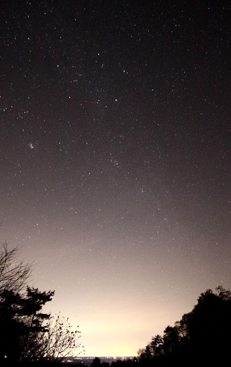 益子の夜空