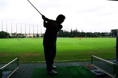 ゴルフ打ちっ放し