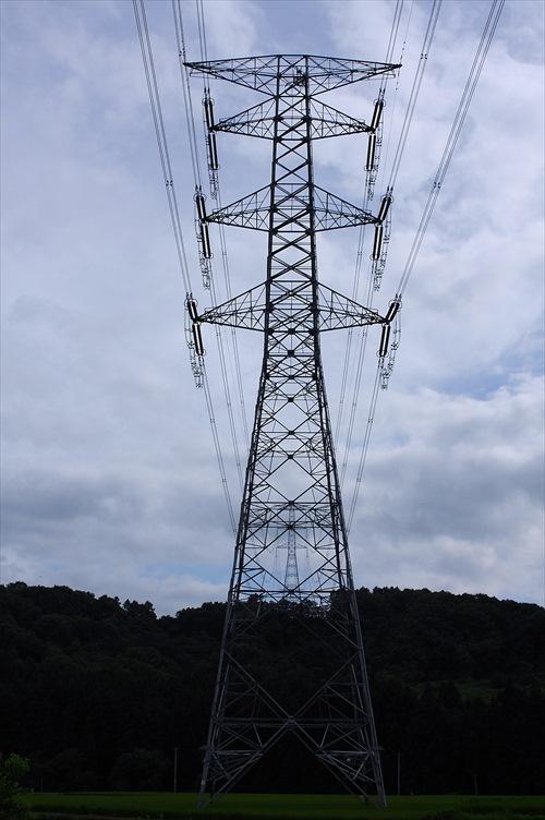 青森十和田の鉄塔