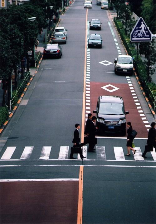 フィルム・・・歩道