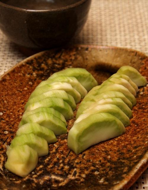 ブロッコリーの茎の味噌漬け