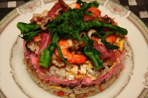 お雛祭りちらし寿司