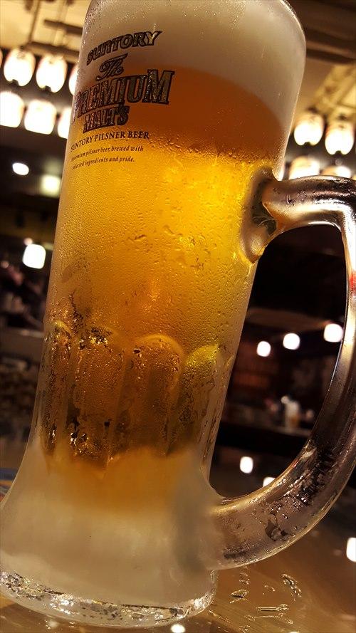 仕事終わってビール!
