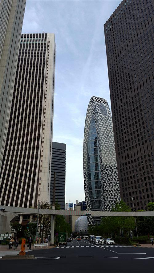 西新宿街並み