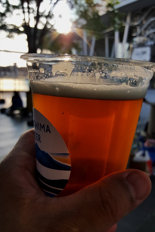 うどんツアー8、ビール