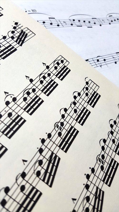 ユーグ、ピアソラ楽譜
