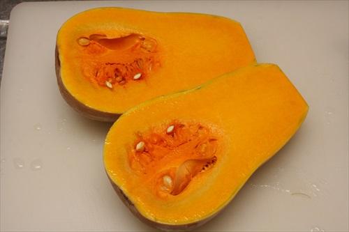 バターナッツかぼちゃとオイルサーディンのフリッター
