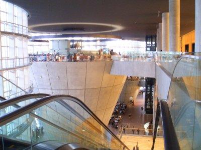 Inside of the Art Center