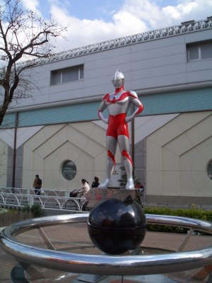 Statue of Ultra-man