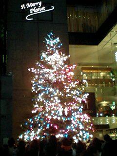 Christmas Tree @ Mikimoto, Ginza