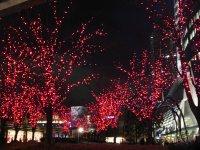 Red Illuminations @ Roppongi Hills