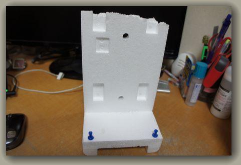 iPadmini手作りスタンド