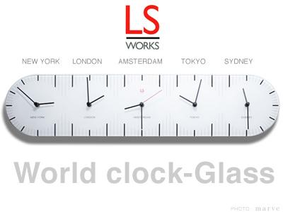 LSworksワールドクロック