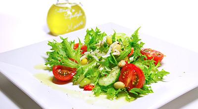 オリーブオイル サラダ