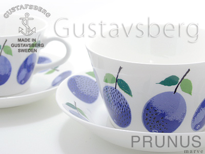 GUSTAVSBERG PRUNUS ティーカップ&コーヒーカップ