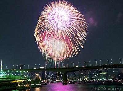 東京湾大華火祭2010