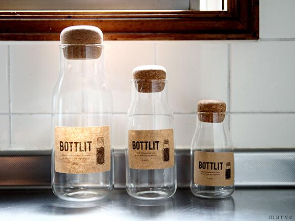 BOTTLIT ガラスキャニスター