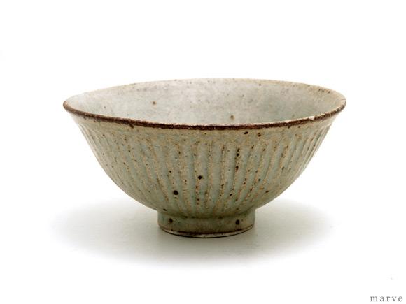 伊藤豊 シノギ黄粉引茶碗