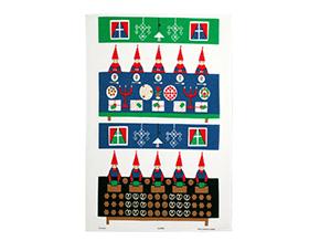 アルメダールス キッチンタオル クリスマスプレパレーション