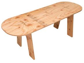 PANEL LONG TABLE パネルロングテーブル